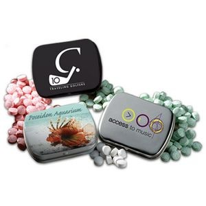 Mini Hinged Tin- Mini Mints