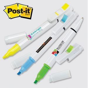 Post-it® Trio Series Custom Printed Flag, Pen & Highlighter Combo (4CP)