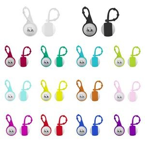 Silicone Carabiner Golf Ball Lip Balm w/ Fill Choice
